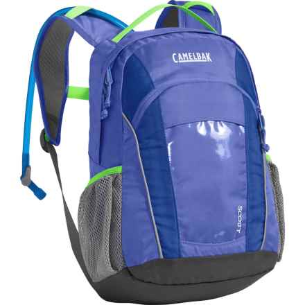 CamelBak Scout 17L Hydration Pack -  50 fl.oz. (For Kids) in Periwinkle/Sapphire - Closeouts