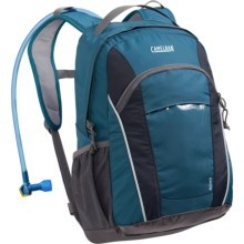 CamelBak Scout Hydration Backpack - 50 fl.oz. (For Kids) in Moroccan Blue/Total Eclipse - Closeouts