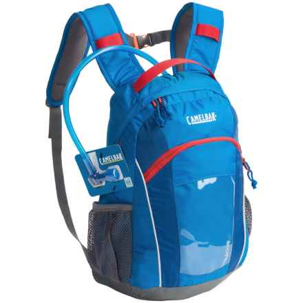 CamelBak Scout Hydration Pack - 1.5L Reservoir (For Kids) in Superhero - Closeouts
