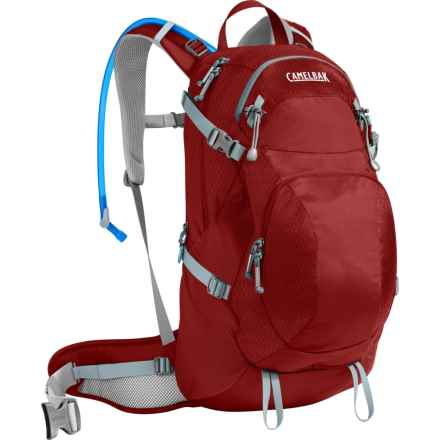 CamelBak Sequoia 22 Hydration Pack - 100 fl.oz (For Women) in Red Dhalia/Stone Blue - Closeouts