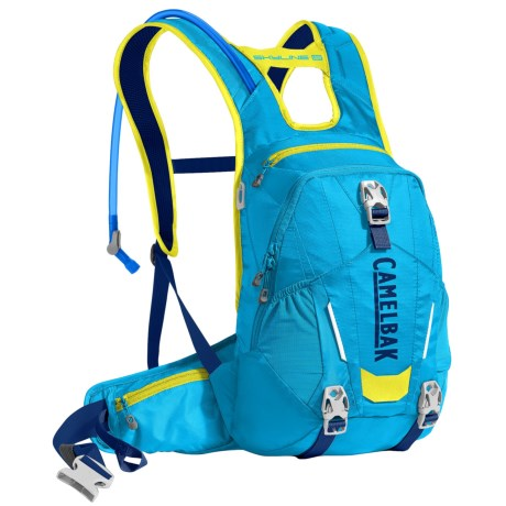 CamelBak Skyline 10 LR Hydration Pack - 100 fl.oz. in Atomic Blue/Sulphur Springs