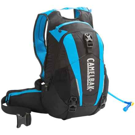 CamelBak Skyline 10 LR Hydration Pack - 100 fl.oz. in Black/Atomic Blue - Closeouts