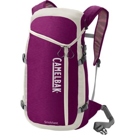 CamelBak SnoBlast Hydration Pack - 2L Reservoir in Purple/Egret