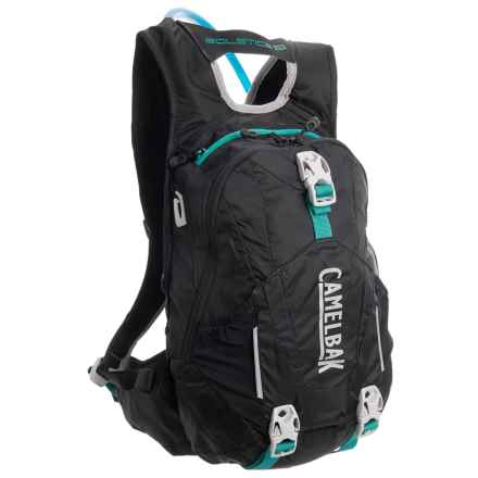 Camelbak Solstice 10 LR Hydration Pack - 100 fl.oz. (For Women) in Black/Columbia Jade - Closeouts