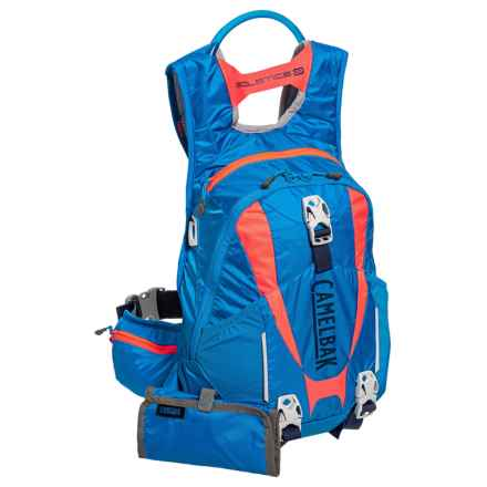 CamelBak Solstice 10 LR Hydration Pack - 100 oz. (For Women) in Carve Blue/Fiery Coral - Closeouts