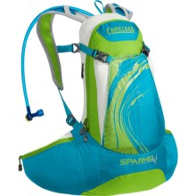 CamelBak Spark 10 LR Hydration Pack- 70 fl.oz. (For Women) in Blue Jewel/Chartreuse - Closeouts