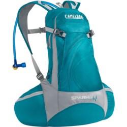 CamelBak Spark 10 LR Hydration Pack- 70 fl.oz. (For Women) in Capris Breeze/Frost Grey