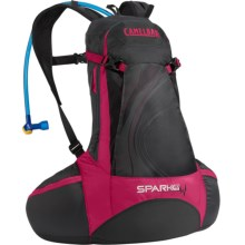 CamelBak Spark 10 LR Hydration Pack- 70 fl.oz. (For Women) in Pirate Black/Cerise - Closeouts