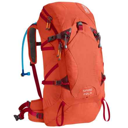 CamelBak Spire 22 LR Hydration Pack - 100 fl.oz. (For Women) in Cherry Tomato/Samba - Closeouts