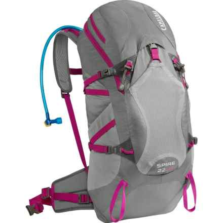 CamelBak Spire 22 LR Hydration Pack - 100 fl.oz. (For Women) in Graphite/Bright Fuchsia - Closeouts