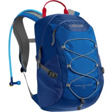 CamelBak Trailblazer 15 Hydration Pack - 50 fl.oz. (For Big Kids) in Limoges/Skydiver - Closeouts