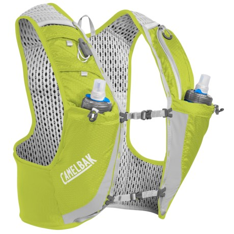CamelBak Ultra Pro Hydration Vest - 34 fl.oz. in Lime Punch/Silver