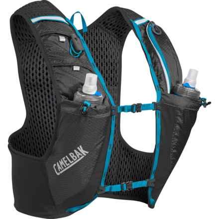 CamelBak Ultra Pro Vest in Black/Atomic Blue