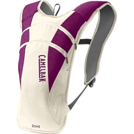 CamelBak Zoid Hydration Pack - 70 fl.oz. in Purple Egret/Purple