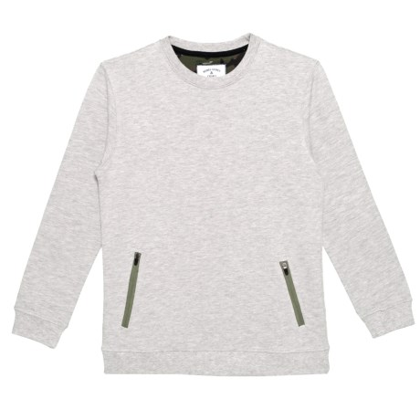 Camo Elbow Sweatshirt (For Little Boys) thumbnail
