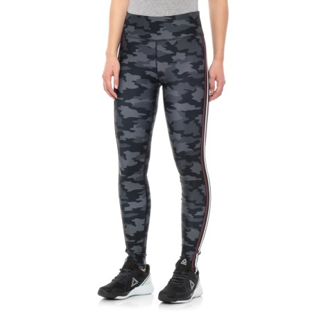 Image of Camo Printed Leggings with Elastic Side (For Women)
