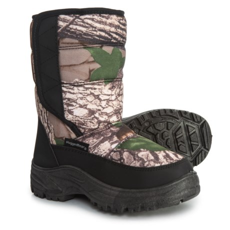 Image of Camo Single Strap Snow Boots (For Boys)