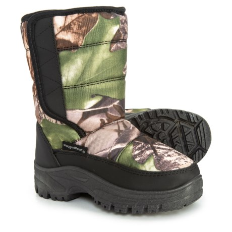 Image of Camo Single Strap Snow Boots (For Toddler Boys)