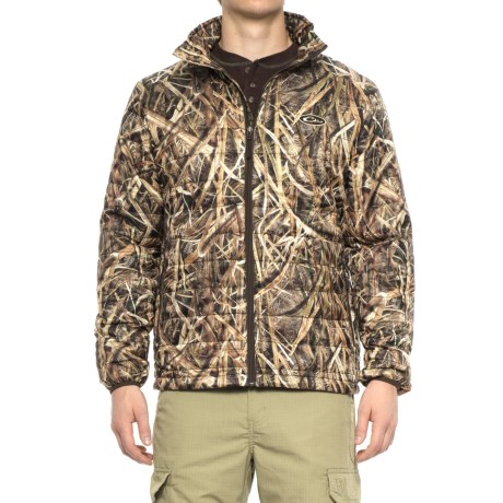 Camo Synthetic Down Jacket - Insulated (For Men) thumbnail