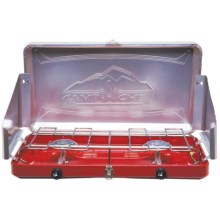 Camp Chef Mountain Series Sierra Stove - 2-Burner in Red - Closeouts
