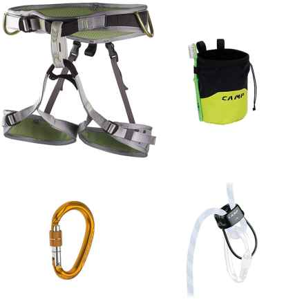 C.A.M.P. Flint Climbing Kit - 4-Piece in See Photo - Closeouts