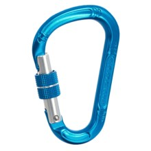 C.A.M.P. HMS Lock Carabiner - Polished Aluminum in Blue - Closeouts