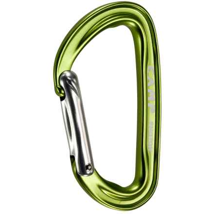 C.A.M.P. Photon Straight Gate Carabiner in Green - Closeouts