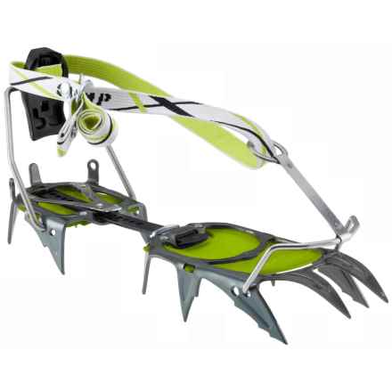 C.A.M.P. USA C12 Automatic Crampons in Green/Graphite - Closeouts