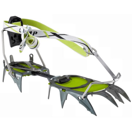 C.A.M.P. USA C12 Automatic Crampons in Green/Graphite