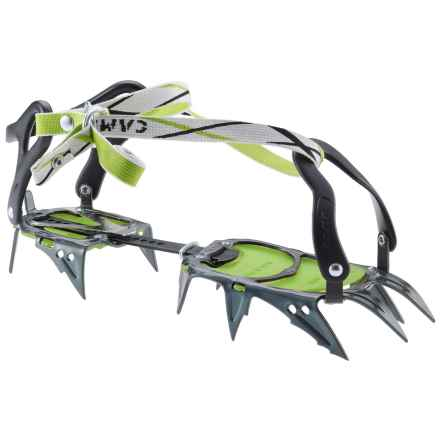 C.A.M.P. USA C.A.M.P. C12 Universal Crampons in Titanium/Green - Closeouts