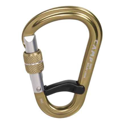 C.A.M.P. USA HMS Belay Lock Carabiner in Bronze - Closeouts