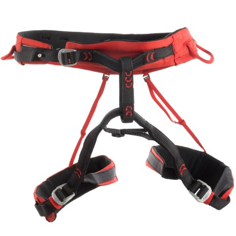 C.A.M.P. USA Jasper CR3 Climbing Harness (For Men and Women) in Red
