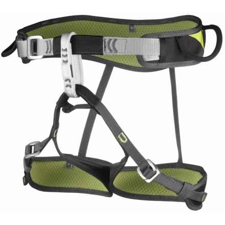 Camp USA Jasper CR3 Light Climbing Harness in Green/Grey - Closeouts