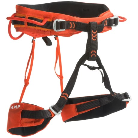 C.A.M.P. USA Jasper CR4 Climbing Harness in Orange