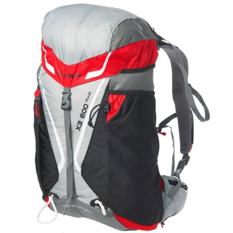 C.A.M.P. USA X3 600 Plus 30L Backpack (For Men and Women) in Red