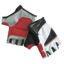 Campagnolo Racing Cycling Gloves - UPF 50+ (For Men and Women) in White - Closeouts