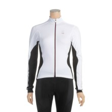Campagnolo Racing Cycling Jersey - Full Zip, Long Sleeve (For Women) in White - Closeouts