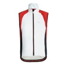 Campagnolo Racing Wind Light TXN Cycling Vest - Full Zip (For Men) in White - Closeouts