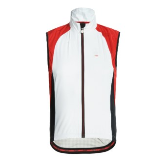 Campagnolo Racing Wind Light TXN Cycling Vest - Full Zip (For Men) in White