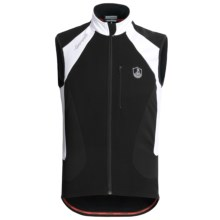 Campagnolo Raytech Thermo TXN Cycling Vest - Full Zip (For Men) in Black - Closeouts