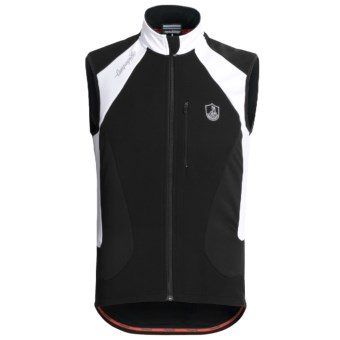 Campagnolo Raytech Thermo TXN Cycling Vest - Full Zip (For Men) in Black