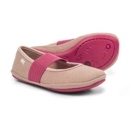 Camper Right Ballet Flats (For Girls) in Pink - Closeouts