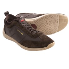 Camper Water Runner Sneakers (For Men) in Dark Brown Leather/Suede - Closeouts
