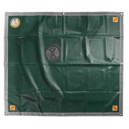 """Campfire Defender Pro Camper Fireplace Cover Kit - 60x68"""" in See Photo - Closeouts"""