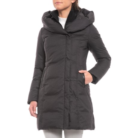 Image of Camyl Down Jacket with Oversized Hood - 700 Fill Power (For Women)
