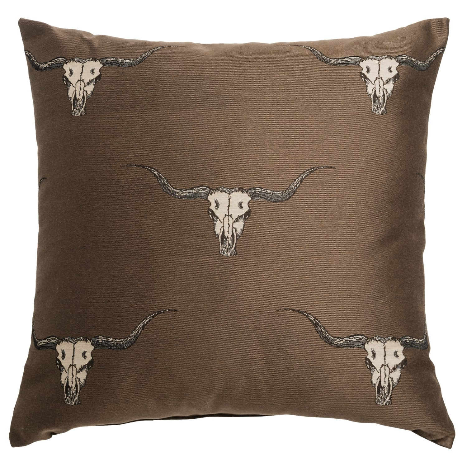 Canaan Stampede Decorative Pillow - 24x24?, Feather-Down - Save 50%