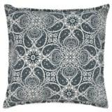 "Canaan Tibi Paisley Pattern Pillow - 22x22"", Feathers"