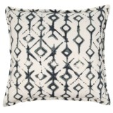"""Canaan Tribal Pattern Pillow - 22x22"""", Feathers"""