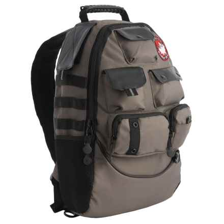 Canada Weather Gear Futura Backpack in Grey - Closeouts