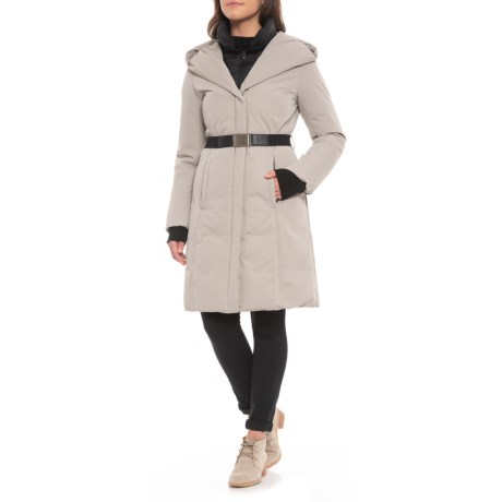 Image of Canadian Designer Genoa Down Jacket - 700+ Fill Power, Belted (For Women)